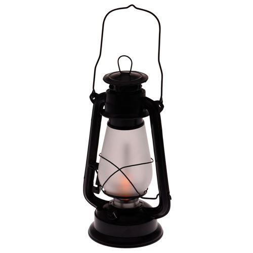 Stormlanterne med regulerbart LED-lys