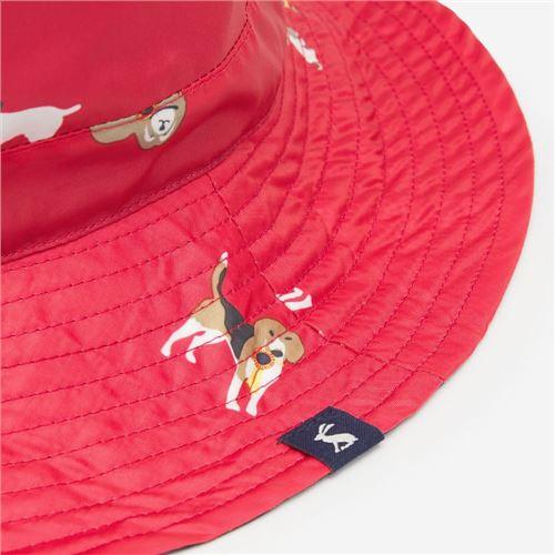 Joules Pink Dog Regnhat - Packaway - 1 stk tilbage