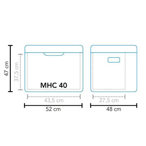 Mestic Hybrid køleboks MHC-40 AC/DC mbar