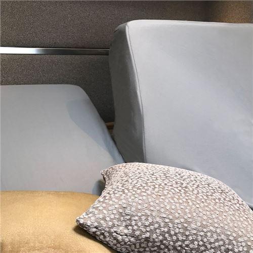 Splitlagen GRÅ, til db-seng med elevation - højrebue