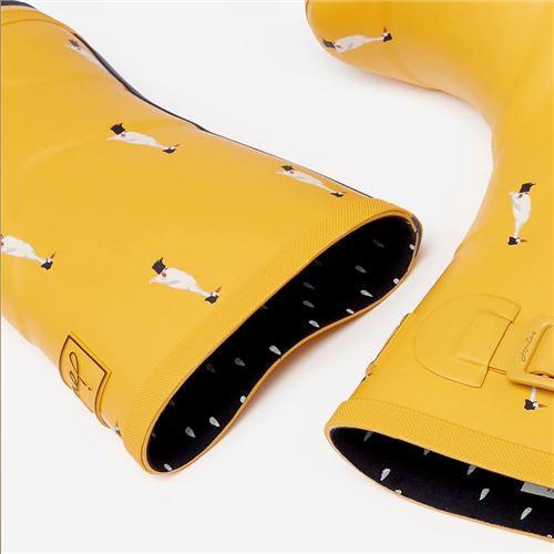 Tom Joules gummistøvle Molly Welly - Gold duck