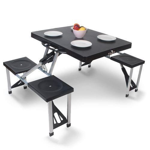 Kampa foldbart bord med bænke - Happy table