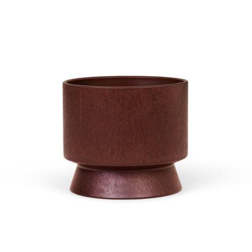Rosendahl urtepotteskjuler, Bordeaux. Ø12 cm. Recycled