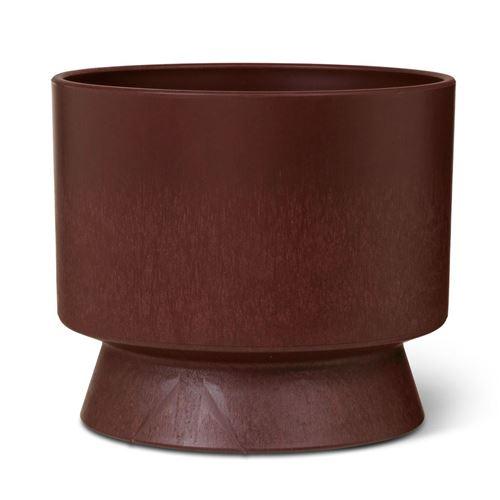 Rosendahl urtepotteskjuler, bordeaux. Ø19 cm. Recycled
