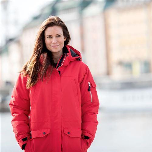Tuxer Greenland Dame parkacoat- W/R 5000 rød - vinter