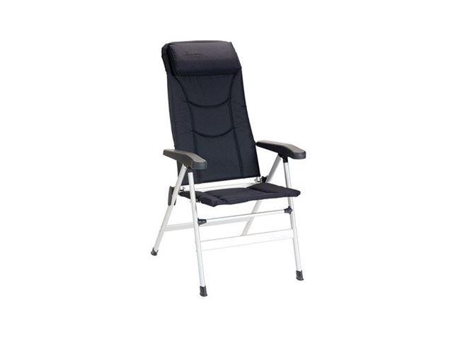 Isabella Thor positionsstol med polster og nakkestøtte, Mørkeblå