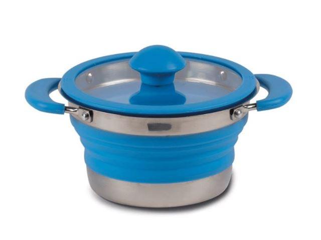 Folding Saucepan 1.0 Litre Blu