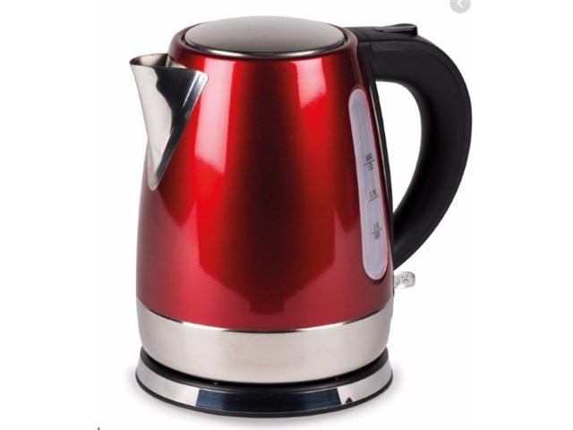 Tempest Red S/S 1,7L Electric Kettle EU