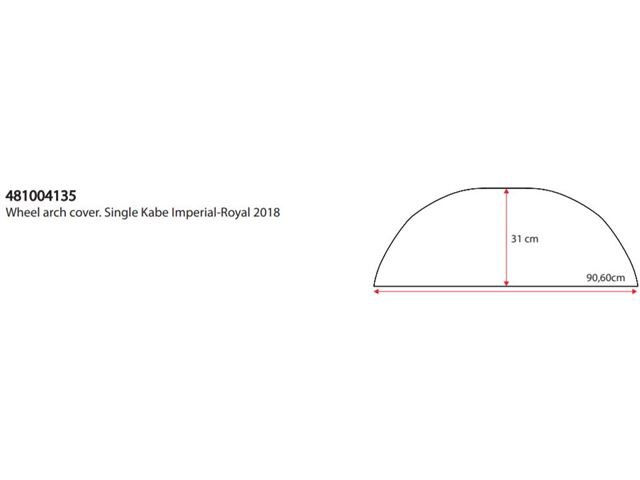 Hjulafd. Single Cover Kabe Imperial og Royal 2018