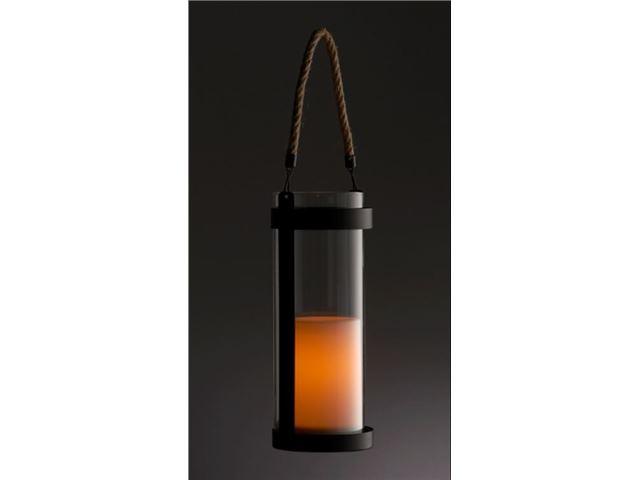 Lanterne Living Light til ophæng, med klart glas