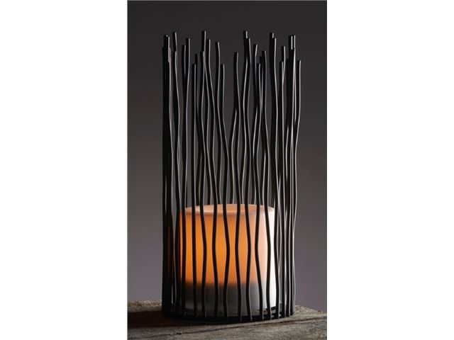 Lanterne Living Light, 3 stk. Cylinderformet bordlanterne af net