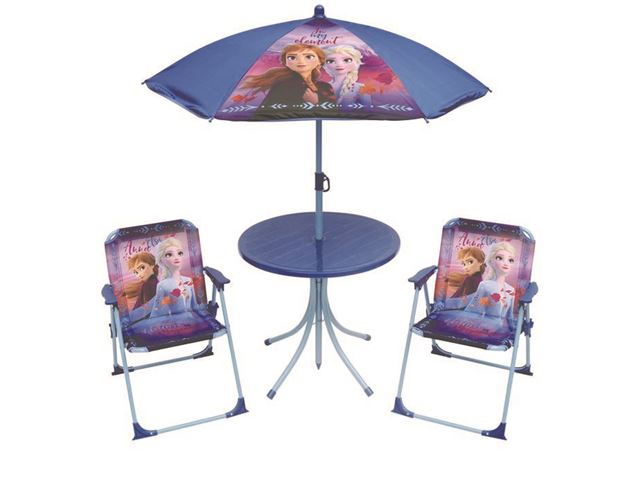 Disney stolesæt med parasol.