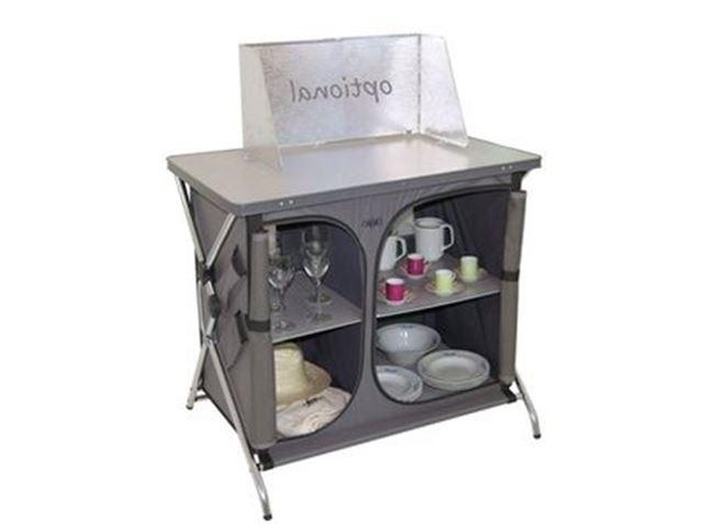 Crespo køkkenbord L92 x B68 x H84 cm, Grå