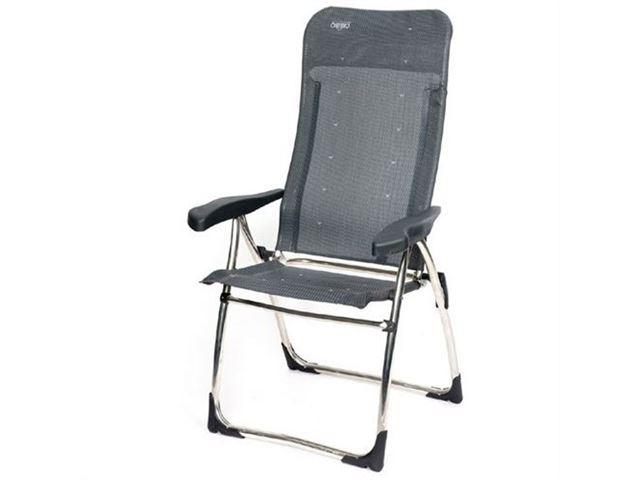 Crespo stol med ekstra høj ryg, Grå