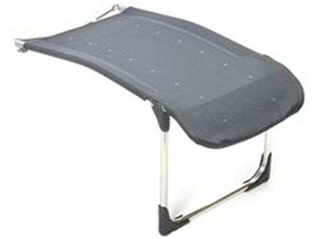 Crespo ergonomisk fodstøtte grå
