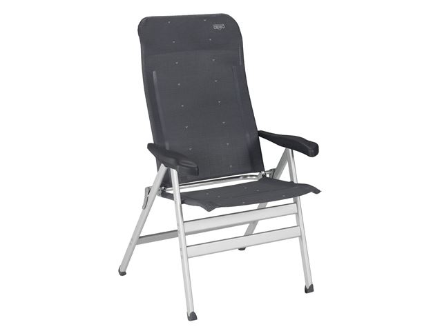 Crespo positionsstol XL med ekstra kraftigt stel og dybere, bredere sæde, Grå
