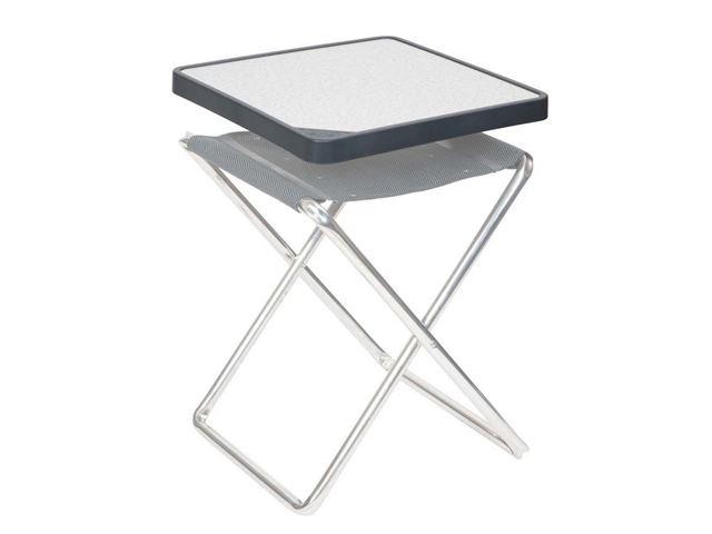 Crespo stor klapstol grå