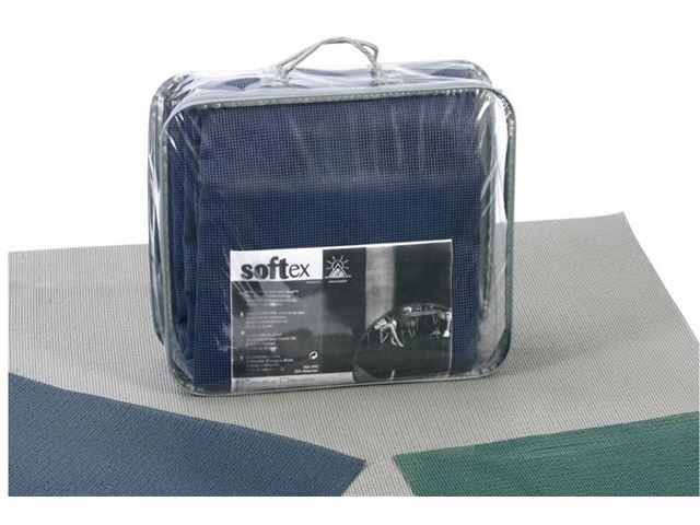 Markisetæppe 2,5 x 3,0 m - Antracit grå polyester