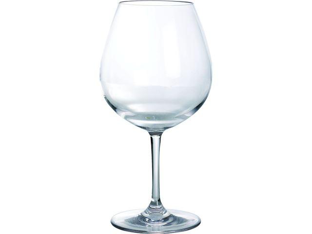 Rødvinsglas 0,70 L polycarbonat klar - 2 stk.