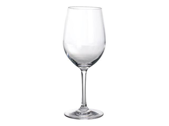 Hvidvinsglas 0,25 L polycarbonat klar - 2 stk.