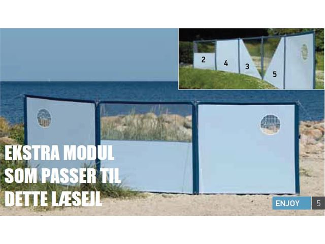 Isabella Modul nr. 5 til Flex læsejl, Isblå