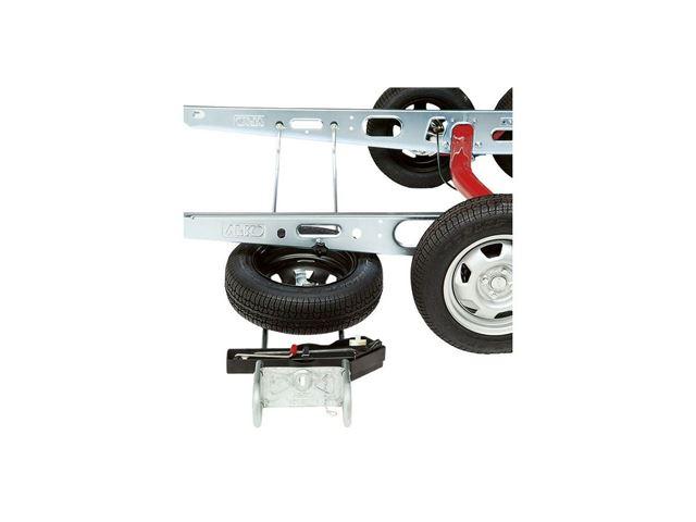Reservehjulsophæng, kort model