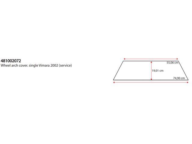 Hjulafdækning Enkelt Vimara 2002