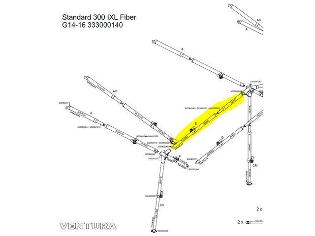 Fiber E-stang G14-16