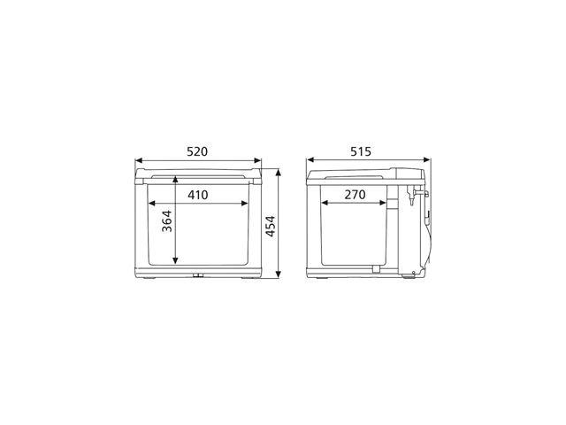 Kompressorkøleboks Dometic Hybrid 220V/12V