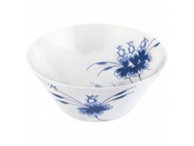 Medusa Blue Dancers mellem skål, melamin