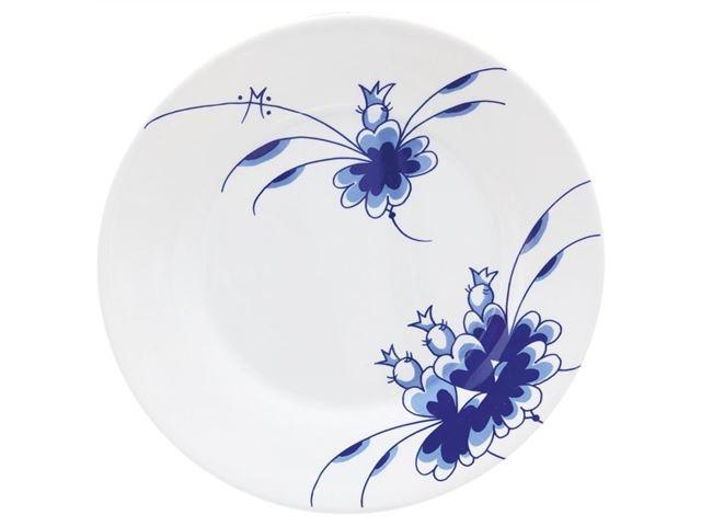 Medusa Blue Dancers stor tallerken, melamin