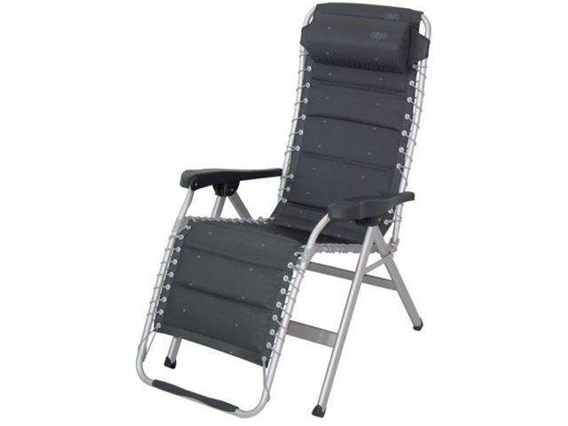 Crespo luksus relax stol med polster