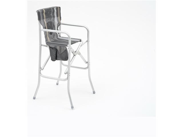 Barnestol og babystol WeCamp Papua. Grå og beige