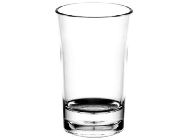 Shots glas 4 cl, 100% brudsikre glas, Polycarbonat