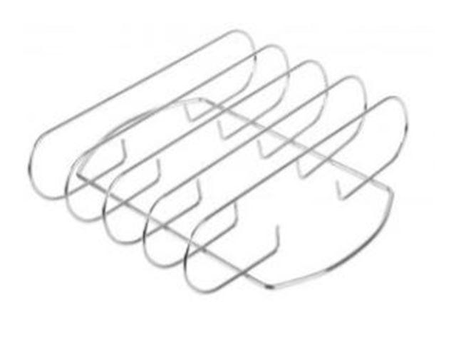 Spareribs holder, mål: 28 x 29 x 7 cm