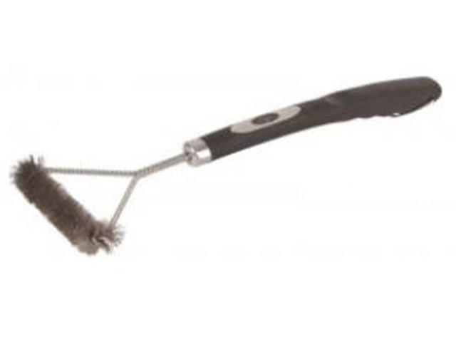 T-Grillbørste, m. soft grip, Mål: 45 x 17 cm