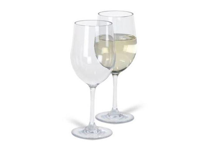 Noble hvid vin 2stk