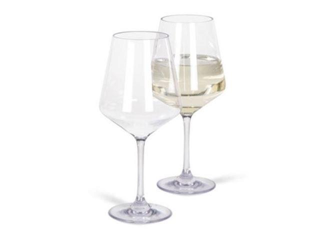 Soho hvid vin 2stk