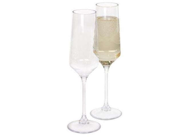 Soho champagneglas 2stk