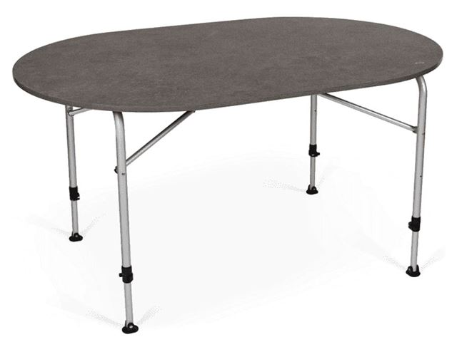 Zero Concrete Oval Table