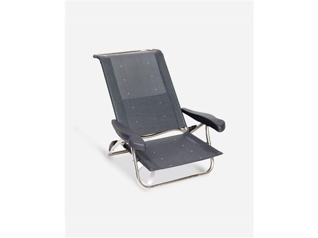 Crespo - Beach chair - AL-222  - Dark grey (40)