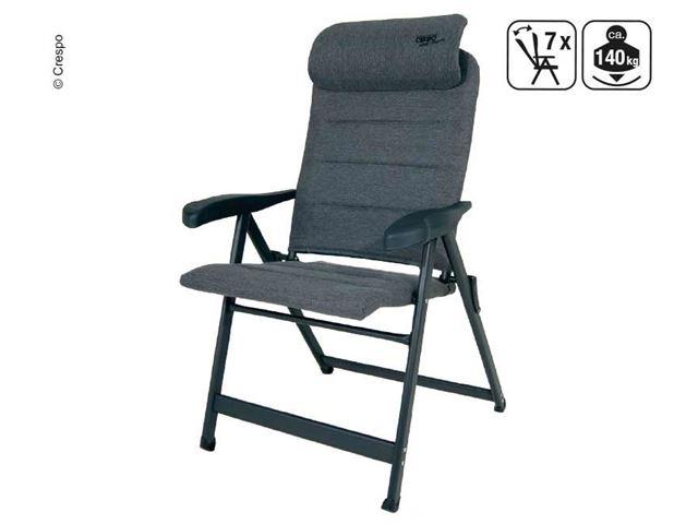 Crespo positionsstol med 7 positioner & kompakt nakkestøtte