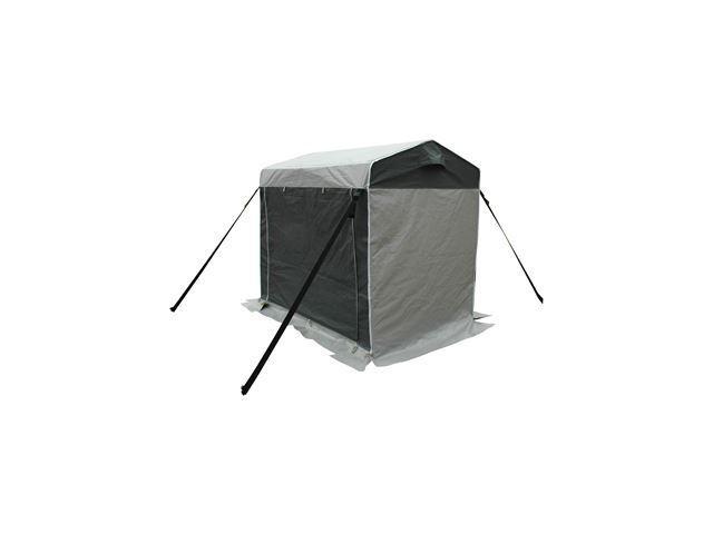 Opbevaringstelt WeCamp Sort og koksgrå - Mål: 220x150x(H)200cm