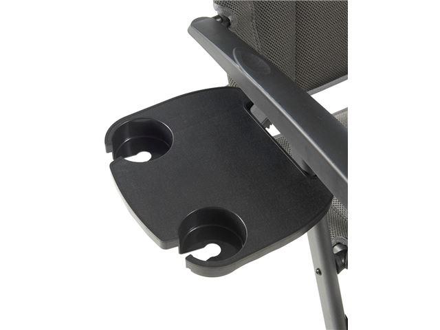 Sidebord til positionstol til kaffekop og telefon