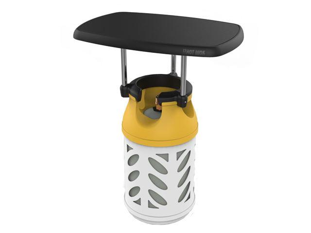 HOT WOK - TOP LINE: Bord til letvægts-gasflasker