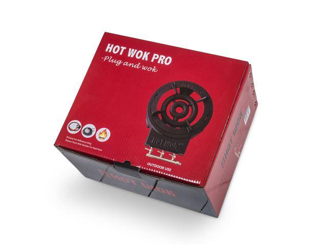 Hot Woksæt 12 kW med 30 cm wokpande