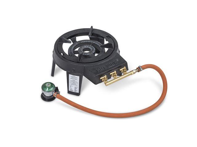 Hot Wok 7,0 kW med 30 cm wokpande inkl. regulator/slange