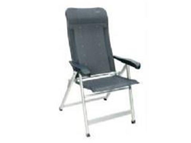 Crespo højrygget luksus stol - Grå