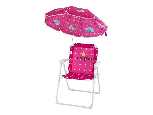 Barnestol med parasol