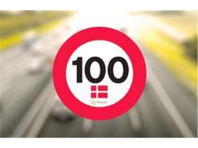 Tempo 100 Dansk inkl. 2 nye dæk